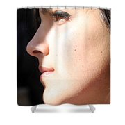 Looking Forward To Christmas Shower Curtain