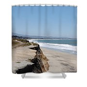 Looking Toward Half Moon Bay Shower Curtain