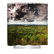 Lookout Trail Shower Curtain