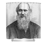 Lord Kelvin (1824-1907) Shower Curtain