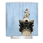 Lord Nelson's Column Shower Curtain