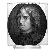 Lorenzo De Medici Shower Curtain
