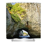 Los Arcos Park In Mexico Shower Curtain