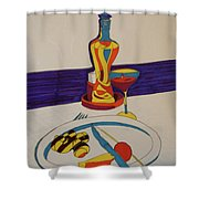 Los Caracoles Shower Curtain