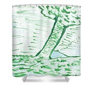 Lost Dams Shower Curtain