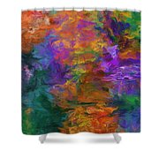 Lost In October Shower Curtain