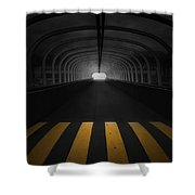 Lost In The Shadows I Walk Alone Shower Curtain