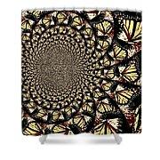 Lotsa Butterflies  Shower Curtain