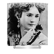 Lotta Crabtree (1847-1924) Shower Curtain