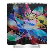 Lotus 3 Shower Curtain
