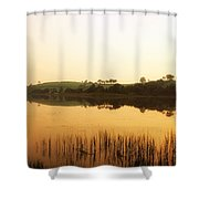 Lough Muck, County Tyrone, Ireland Shower Curtain