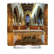 Loughborough Church Altar Shower Curtain
