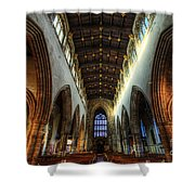 Loughborough Church Ceiling And Nave Shower Curtain