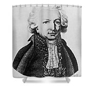 Louis-antoine, French Explorer Shower Curtain