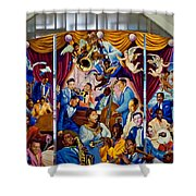 Louis Armstrong International Airport 2 Shower Curtain