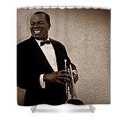 Louis Armstrong S Shower Curtain