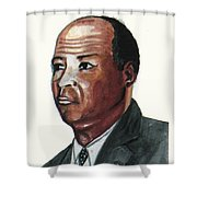 Louis Tmpkins Wright Shower Curtain