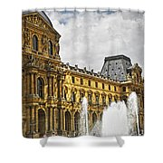 Louvre Shower Curtain
