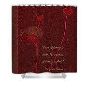 Love Art 4 Shower Curtain