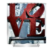 Love In The Afternoon Shower Curtain