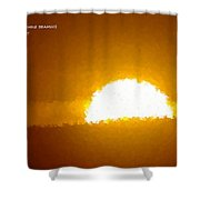 Love Is The Sunshine Shower Curtain