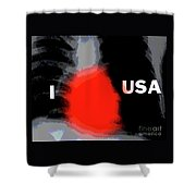 Love Of Country Shower Curtain by Joe Jake Pratt