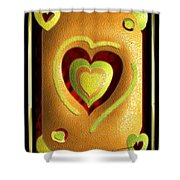 Love Of Fruit And Jello Shower Curtain