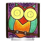Love Owlways Too Shower Curtain