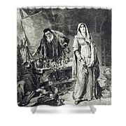 Love Potion, 1894 Shower Curtain