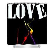 Love Shower Curtain