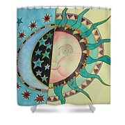 Love You Day And Night Shower Curtain