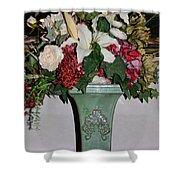 Lovely Floral Arrangement Shower Curtain