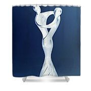 Love's Glow Shower Curtain
