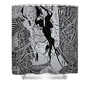 Loves Tryst Shower Curtain