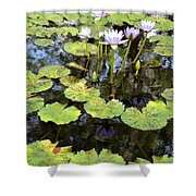 Loving Lilypads Shower Curtain