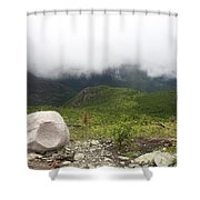 Low Clouds, Quebec Shower Curtain