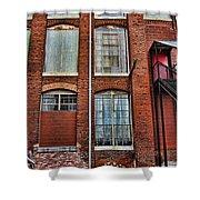 Lowe Mill Art Studio Building Huntsville Alabama Usa Shower Curtain