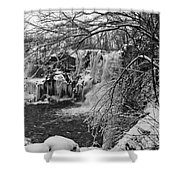 Lower Akron Falls 9713 Shower Curtain