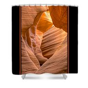 Lower Canyon 17 Shower Curtain