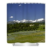 Lower Cottonwood Road Shower Curtain