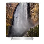 Lower Falls II Shower Curtain
