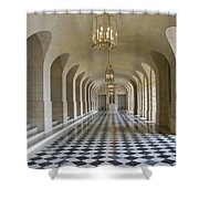 Lower Gallery Versailles Palace Shower Curtain