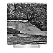 Lower Tahquamenon Falls 6140b Shower Curtain