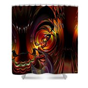 Lsd Dragon Inside Out Fx  Shower Curtain