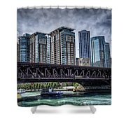 Lsd Lake Shore Drive In Color Shower Curtain