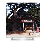 Luckenbach Texas - II Shower Curtain