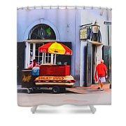 Lucky Dogs - Bourbon Street Shower Curtain
