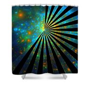 Lucky Star-image Shower Curtain