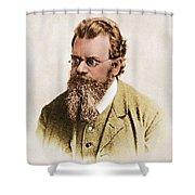 Ludwig Boltzmann, Austrian Physicist Shower Curtain
