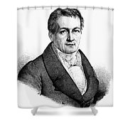 Ludwig Tieck (1773-1853) Shower Curtain